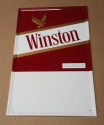 Winston Cigarettes Tin Sign
