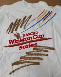 Winston Cigarettes NASCAR T-Shirt winston cigarettes nascar t-shirt Winston Cigarettes NASCAR T-Shirt winstoncupcharlotte1992longpockettshirtrear