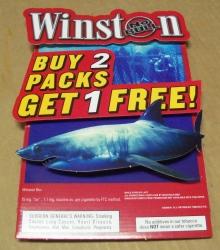 Winston Cigarettes Sign
