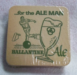 Ballantine Ale Beer Coaster