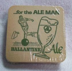 Ballantine Ale Beer Coaster
