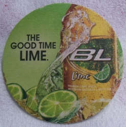 Bud Light Lime Beer Coaster