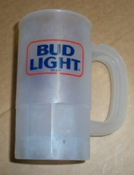 Bud Light Beer Plastic Mug