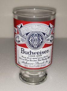 Budweiser Beer Glass budweiser beer glass Budweiser Beer Glass budweiserlabelquartglass1 222x300
