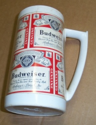 Budweiser Beer Insulated Mug