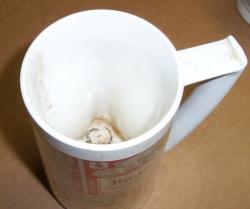 budweiser beer insulated mug Budweiser Beer Insulated Mug budweiserlabelthermoservemugdamagedinside