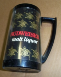 Budweiser Malt Liquor Insulated Mug