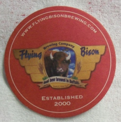 Flying Bison Beer Coaster