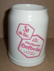 Stuttgarter Hofbrau Beer Stein