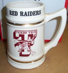 Lone Star Beer Texas Tech Stein