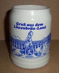 Lowenbrau Munchen Beer Stein
