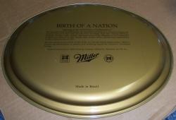 Miller Beer Tray miller beer tray Miller Beer Tray millerbirthofanationtray1992rear