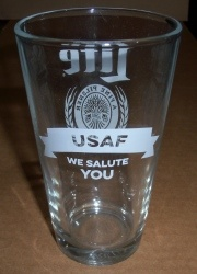 Lite Beer USAF Pint Glass