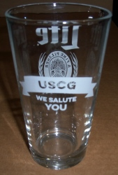 Lite Beer USCG Pint Glass