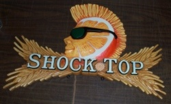 Shock Top Beer Sign [object object] Home shocktopsign