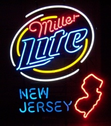 Lite Beer New Jersey Neon Sign