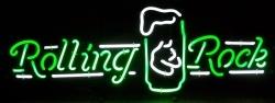 Rolling Rock Beer Neon Sign