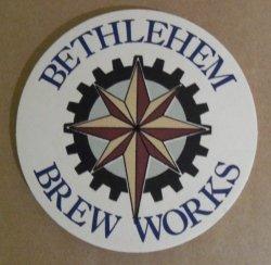 Bethlehem Brew Works Beer Coaster