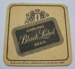 Black Label Beer Coaster black label beer coaster Black Label Beer Coaster blacklabelrear