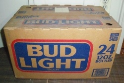 Bud Light Beer Case