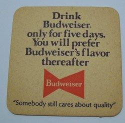 Budweiser Beer Coaster budweiser beer coaster Budweiser Beer Coaster budweiser5daytestrear