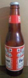 Budweiser Beer Bottle Sign