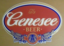 Genesee Beer Tin Sign