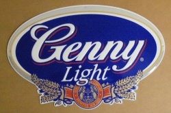 Genny Light Beer Tin Sign