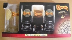 Kahlua Liqueur Glass Set