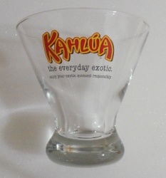 Kahlua Liqueur Glass