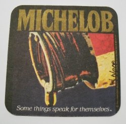 Michelob Beer Coaster