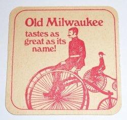 Old Milwaukee Beer Coaster