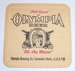 Olympia Beer Coaster