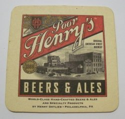 Poor Henrys Beer Coaster
