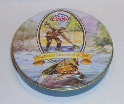 1993 Coors Beer Holiday Coasters