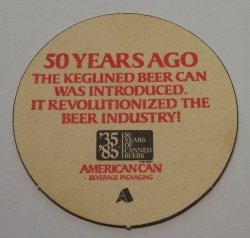American Can Company Coaster american can company coaster American Can Company Coaster americancan50th
