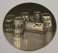 American Can Company Coaster