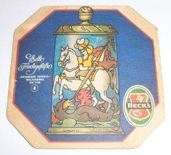 Becks Beer Coaster