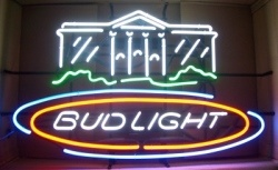 Bud Light Beer Capital Neon Sign  MY BEER SIGN COLLECTION – Not for sale but can be bought… budlightnationscapitol