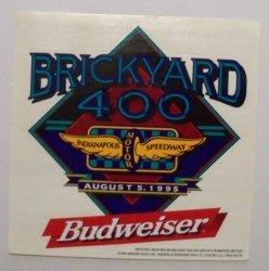 Budweiser Beer NASCAR Sticker