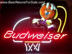 MY BEER SIGN COLLECTION – Not for sale but can be bought… budweiserhornets