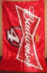 Budweiser Beer NASCAR Banner [object object] Home budweiserkevinharvickbanner2013