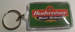 Budweiser Beer Keychain budweiser beer keychain Budweiser Beer Keychain budworldkeychainrear