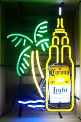 Corona Light Beer Empire State Neon Sign  MY BEER SIGN COLLECTION – Not for sale but can be bought… coronalightempirestate