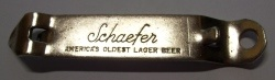 Schaefer Beer Opener