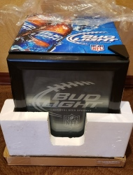 Bud Light Beer Mini Fridge [object object] Home budlightnflminifridgefront