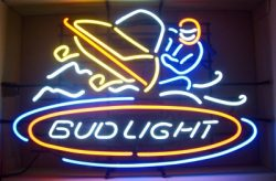 Bud Light Beer Snowmobile Neon Sign  MY BEER SIGN COLLECTION – Not for sale but can be bought… budlightsnowmobile e1591653177616