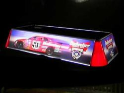 Budweiser Beer NASCAR Pool Table Light  MY BEER SIGN COLLECTION – Not for sale but can be bought… budweisernascarpooltablelight e1591707473314