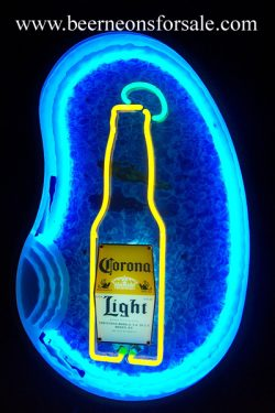 Corona Light Beer Swimming Pool Neon Sign  MY BEER SIGN COLLECTION – Not for sale but can be bought… coronalightpool e1591816931961