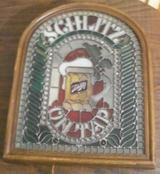 Schlitz Beer On Tap Light [object object] Home schlitzontapstainedglass1977off